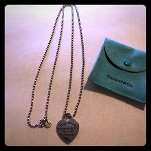 Tiffany & Co. Double wrap Tiffany heart Necklace